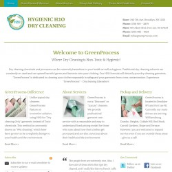 Green Process Dry Cleaning