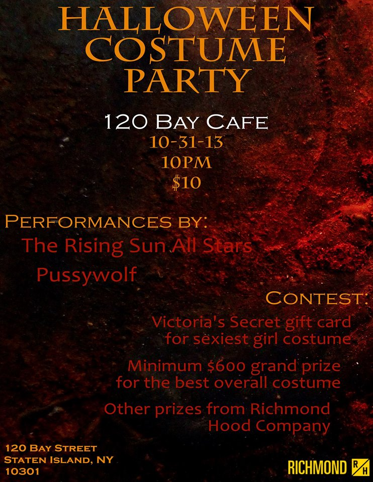 120 Bay Cafe Halloween Party