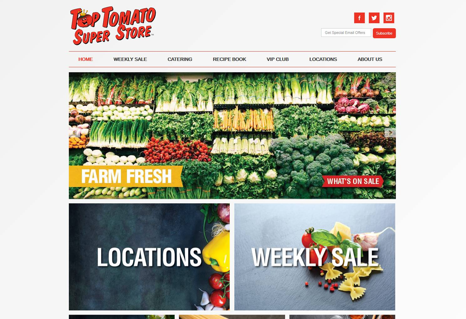 Top Tomato Superstore