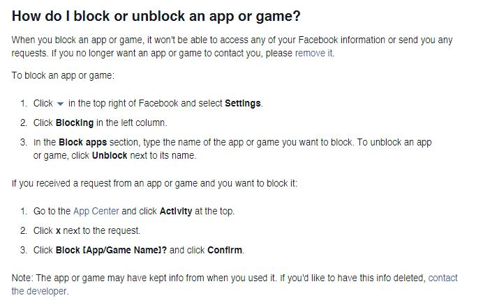 How To Block Games On Facebook