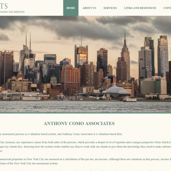 Staten Island Web Design: Anthony Como Associates