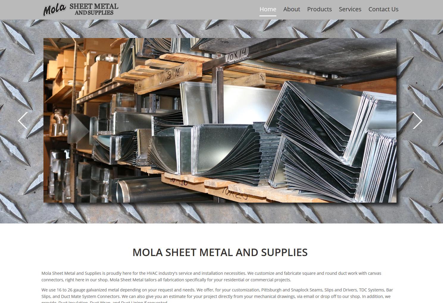Mola Sheet Metal