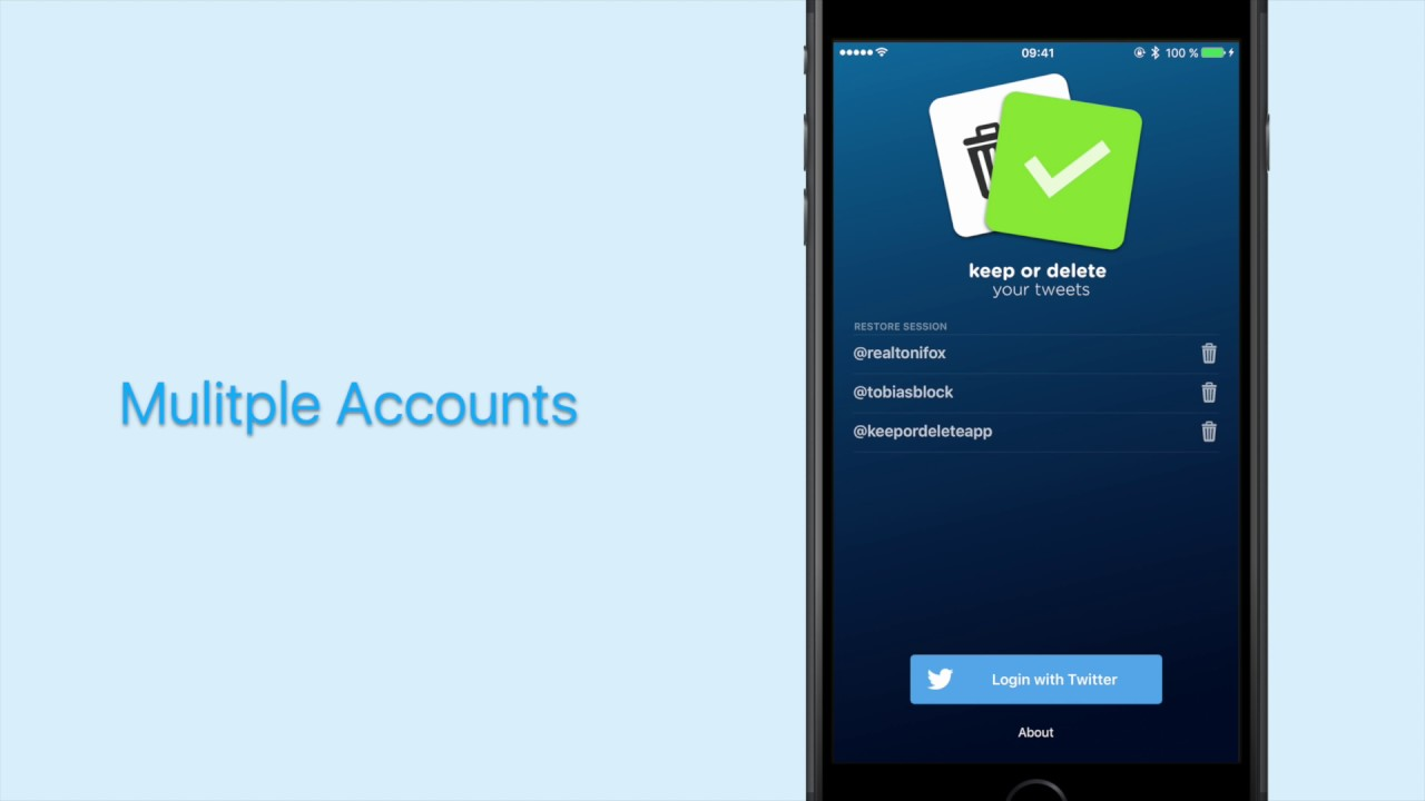 Clean Up Your Twitter Account With The Keep Or Delete App