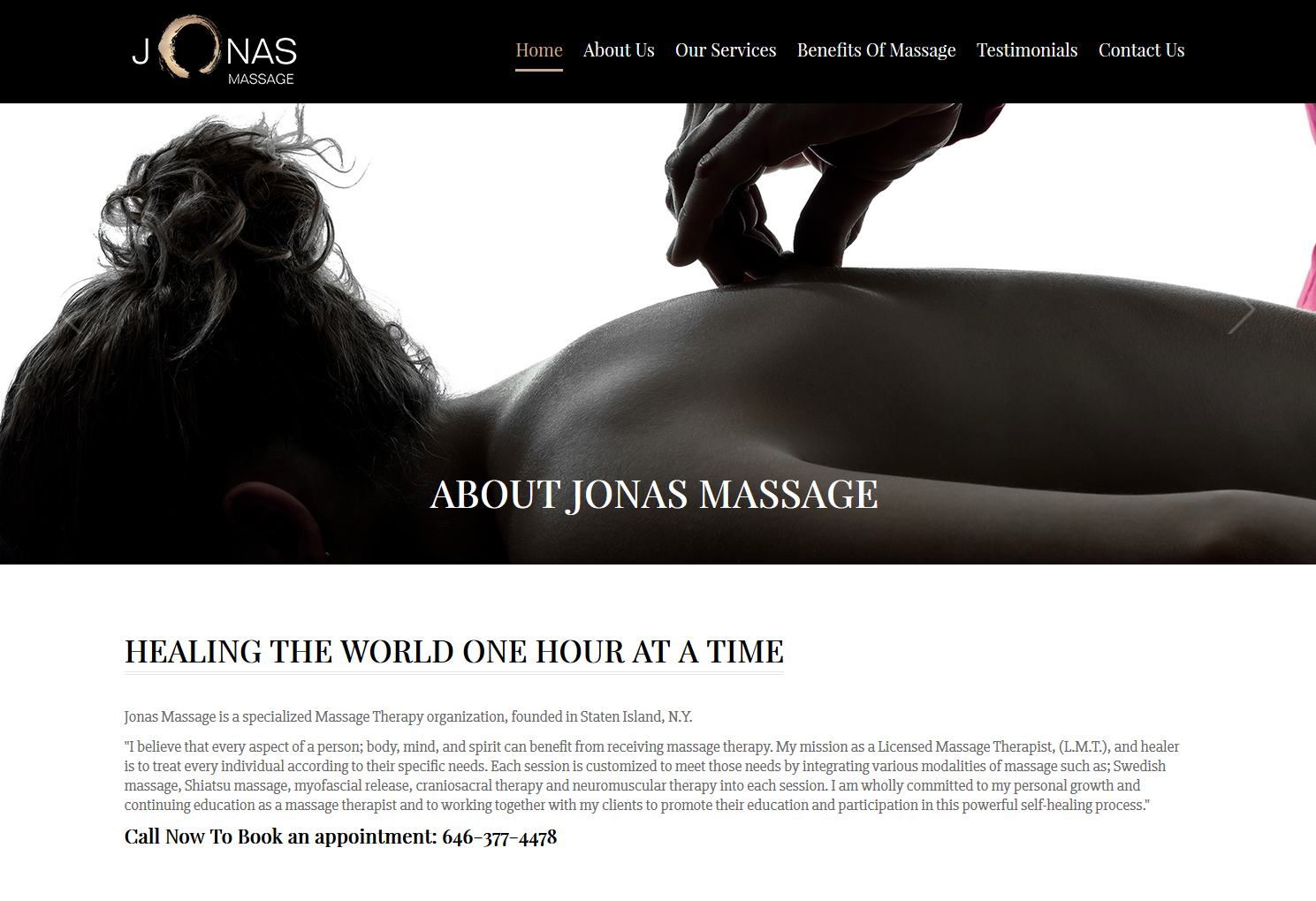 Jonas Massage