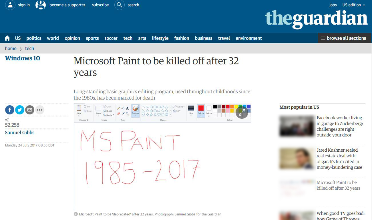 The End of MS Paint Is Near, Here's What Will Replace It